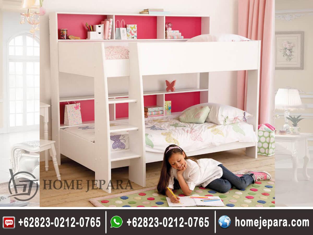 Tempat Tidur Tingkat Anak Minimalis Modern Home Jepara