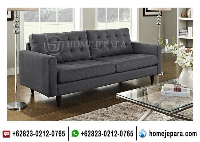 Sofa Keluarga Minimalis Grey