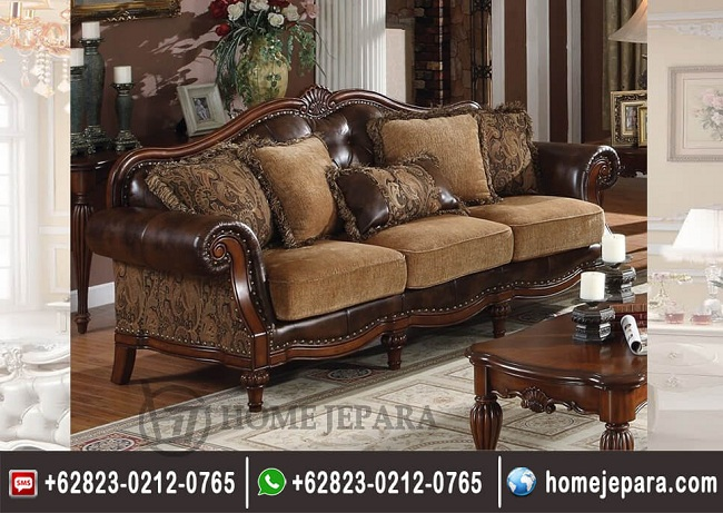 Sofa Ukiran Jati Classik