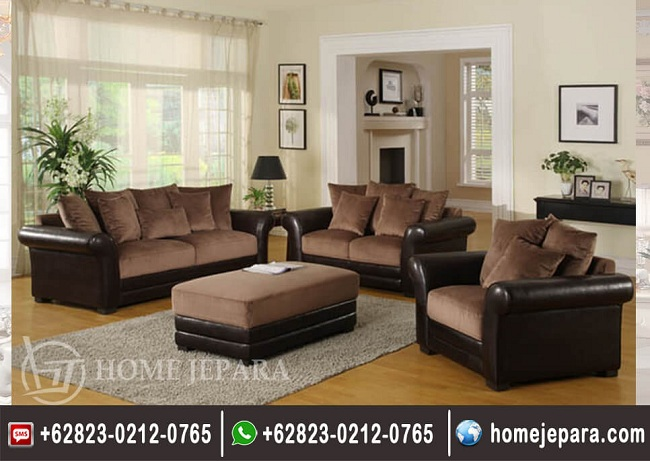 Sofa Tamu Minimalis Brown