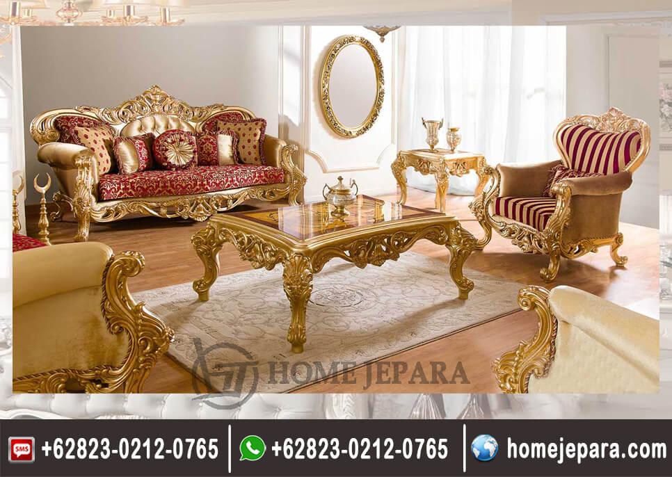 Sofa Tamu Classik Emmas