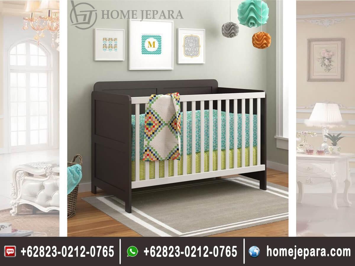Tempat Tidur Bayi 2 Warna
