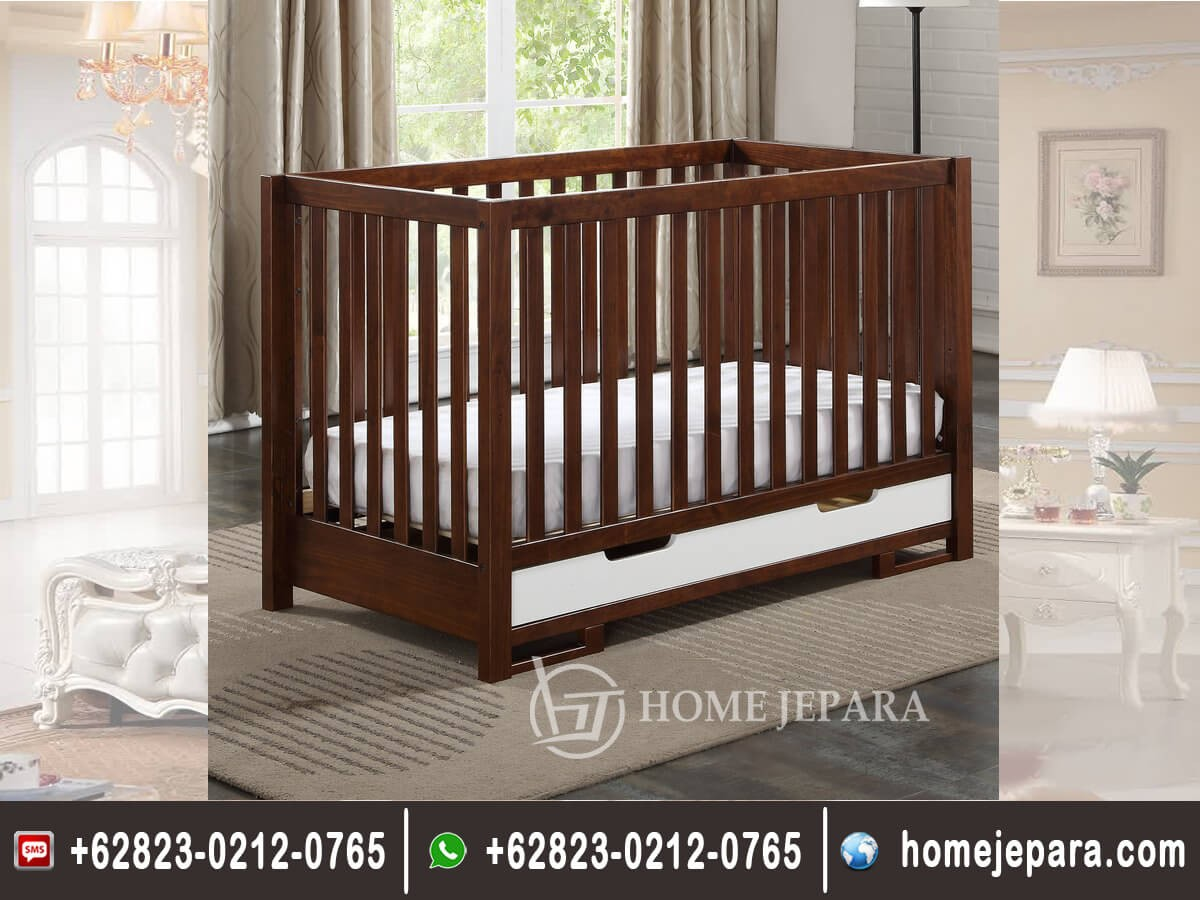 Tempat Tidur Bayi Model Laci