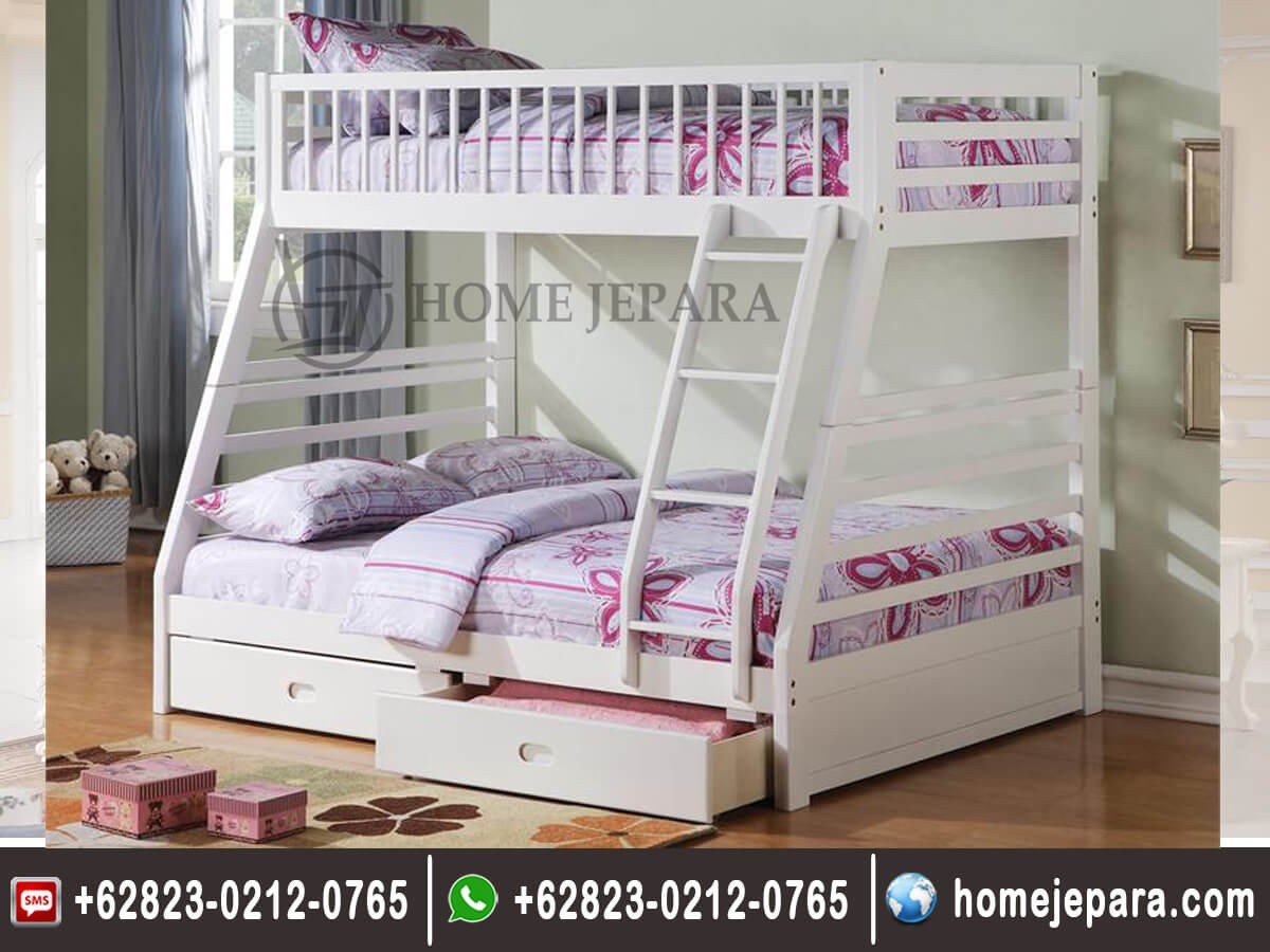 Tempat Tidur Tingkat Modern Mewah